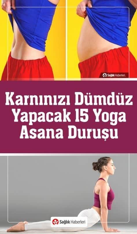 Karnınızı Dümdüz Yapacak 15 Yoga Asana Duruşu