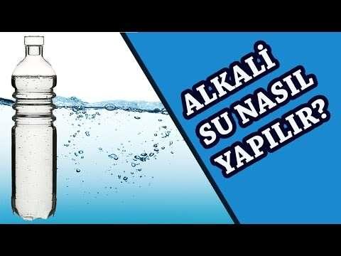 Alkali Su Nasıl Yapılır? Faydaları Nelerdir?