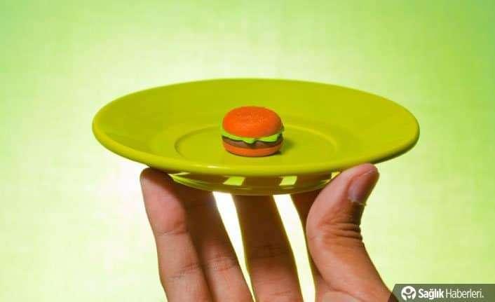 Daha küçük bir tabaktan yiyin