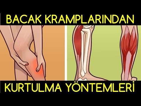 Bacak krampları neden olur ve bacak kramplarından kurtulma yöntemleri