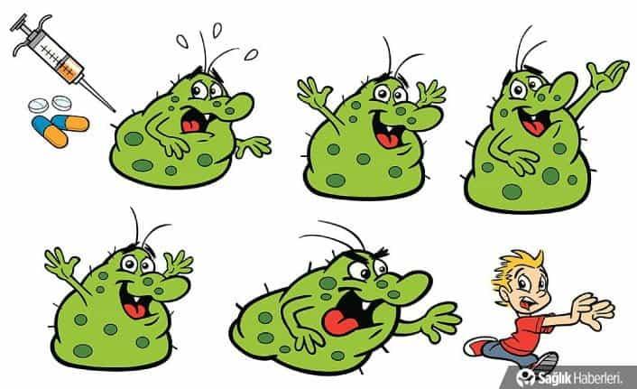 Çocuklaramikroplar nasıl bulaşır?