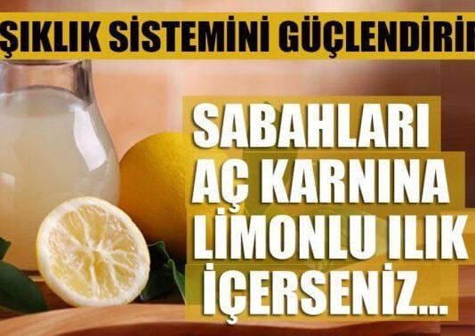 Her Sabah Limon Suyu İçtiğinizde Vücudunuza Ne Olur?