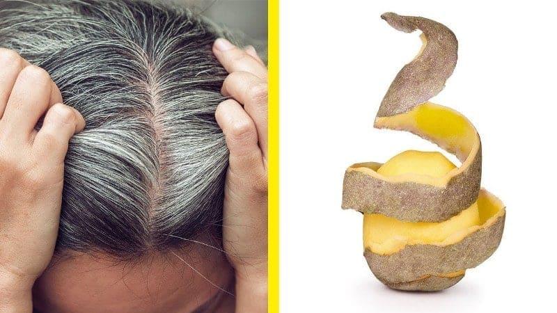 maxresdefault 2 4 Sadece patates kullanarak oluşan beyaz saçlardan kurtulun! Kesin Çözüm