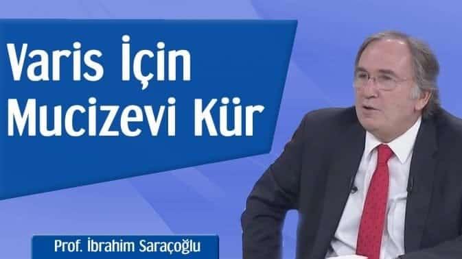 Prof. İbrahim Saraçoğlu'ndan varis için mucizevi bitkisel kür