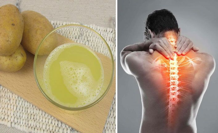 Bel ve boyun ağrılarının doğal ilacı patates suyu nasıl kullanılmalıdır?