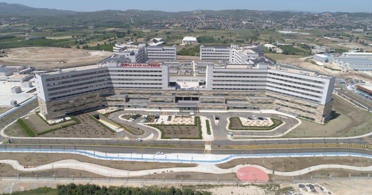 Bursa Şehir Hastanesi Yakında Açılıyor Bursa Şehir Hastanesi yakında açılıyor!