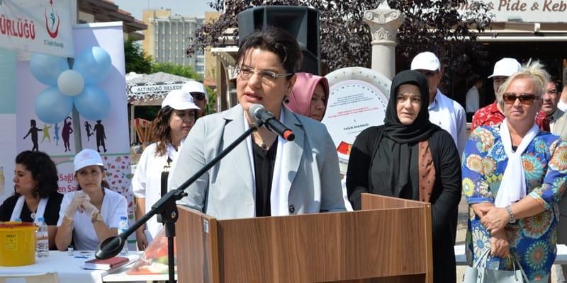 Halk Sağlığı Haftası kapsamında 'Sağlık Sokağı' açıldı