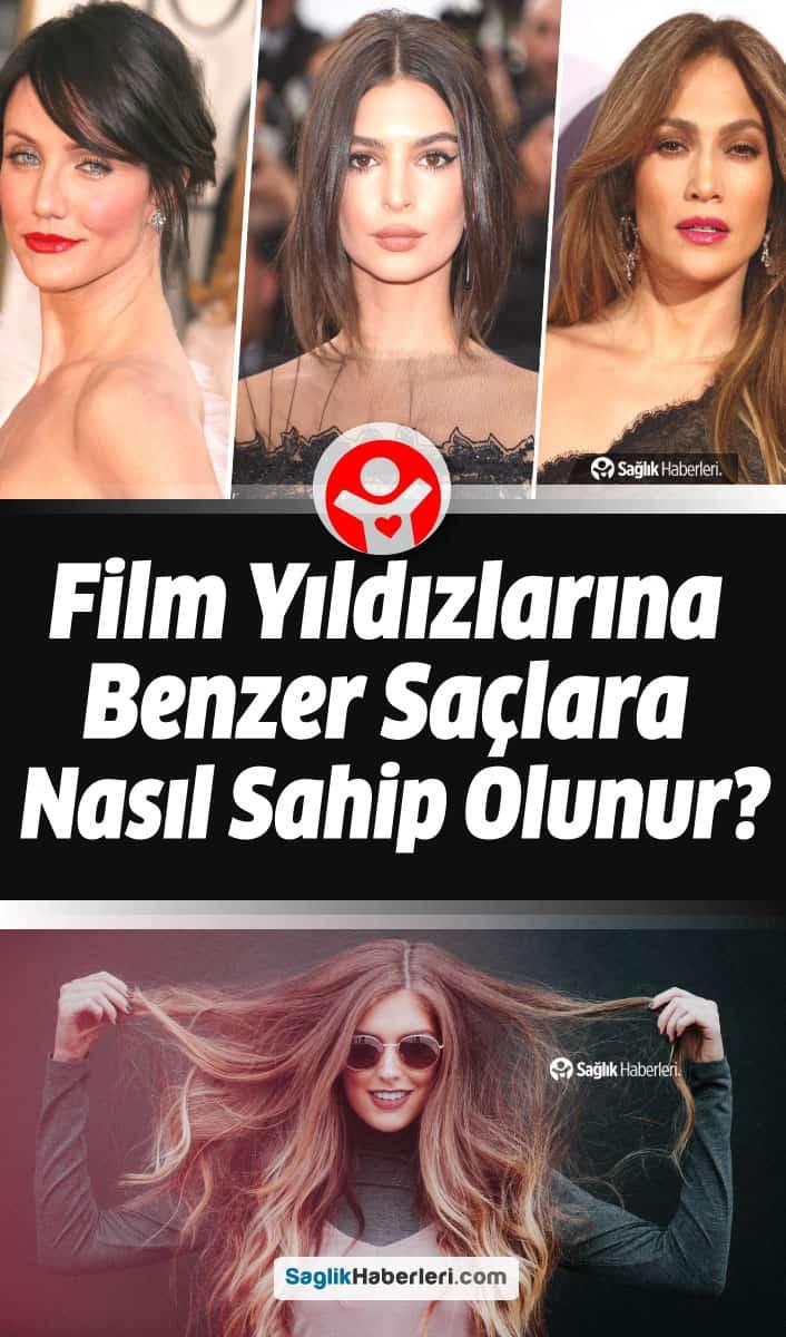 Film yıldızlarına benzer saçlara sahip olmak için 4 altın ipucu