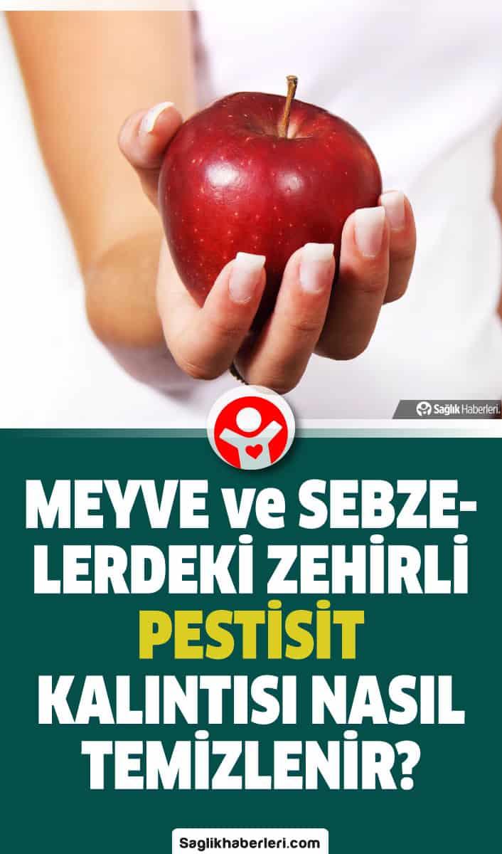 Pestisit nedir, zararları neler? Hangi besinlerde var? Kalıntısı nasıl temizlenir?