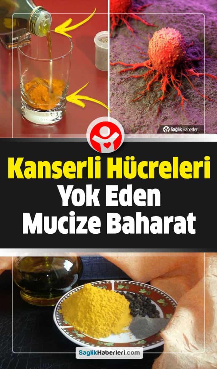 Kanserli hücreleri öldüren mucize baharatlar!