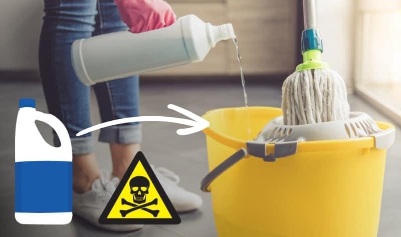 Uzmanlar uyardı! Çamaşır suyu ile temizlik yaparken dikkat!