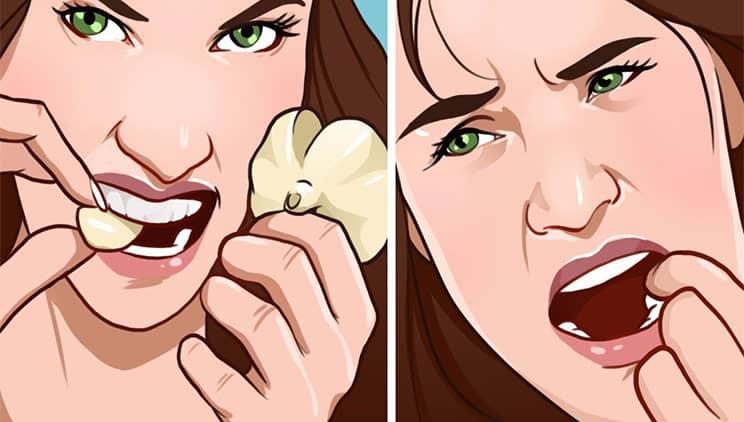 Dişçiye gitmeden önce bu 7 ev ilaçlarından birini deneyin!
