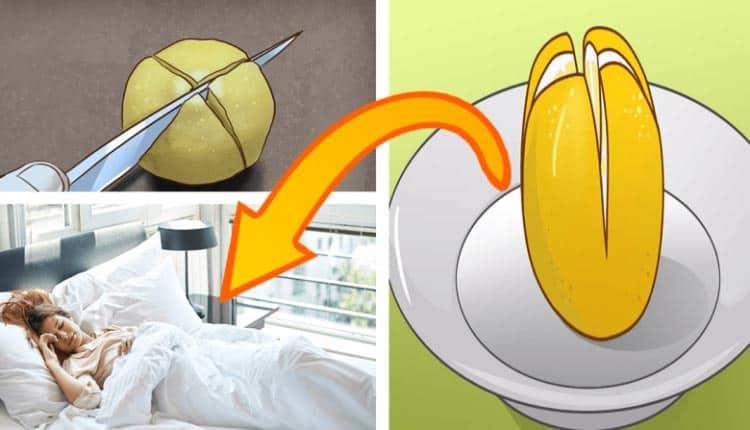 Neden her gece yatağınızın yanına limon koymalısınız?