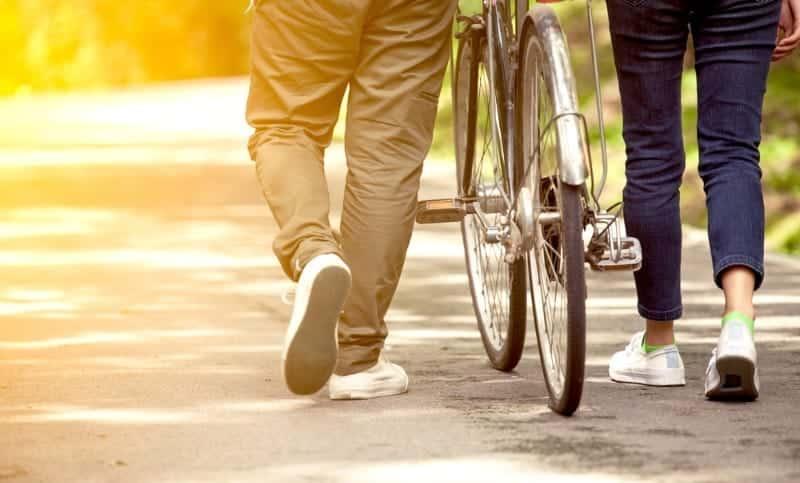 10 bin adım yürümek mi yoksa bir saat bisiklet sürmek mi daha iyi?