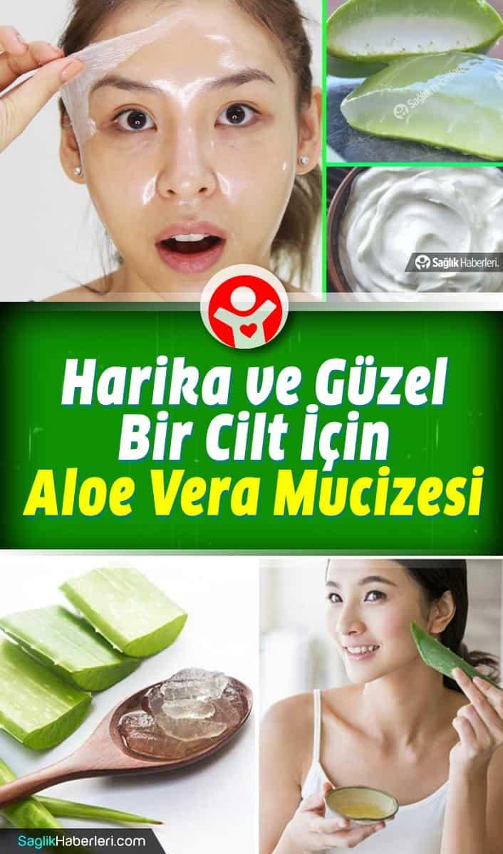 Aloe vera jelinin cildinize faydaları neler? Hangi cilt sorunlarına iyi gelir?