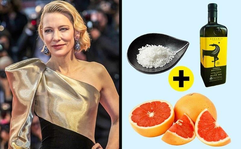 Cate Blanchett'in masaj yağı