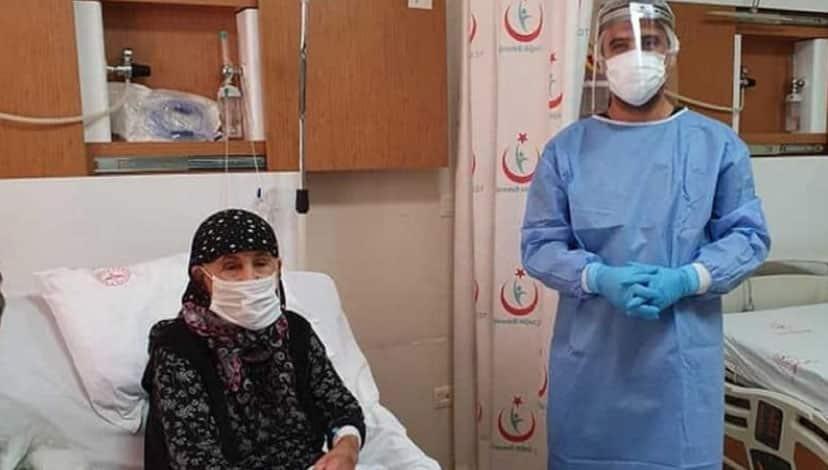 104 yaşında koronavirüse karşı savaşı kazandı!