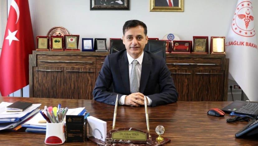 Diyarbakır il sağlık müdürünün korona testi pozitif çıktı