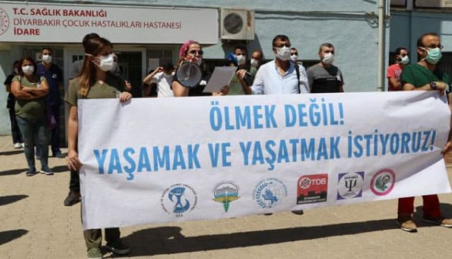 O ilde koronavirüse yakalanan 660 sağlık çalışanından 7'si hayatını kaybetti!