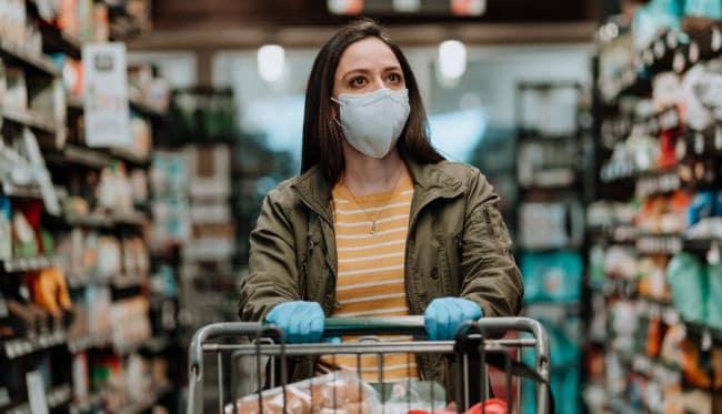 Koronavirüsten korunmak için AVM ve mağazalarda ürünle temastan kaçının!