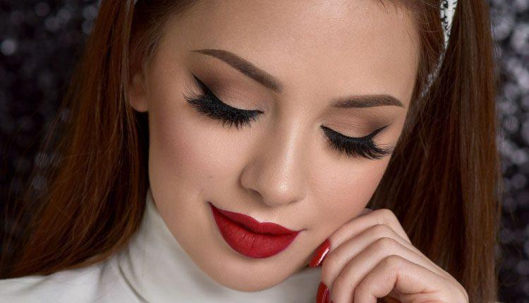Dumanlı dudak makyajı nasıl yapılır? Buğulu dudaklarda göz makyajı