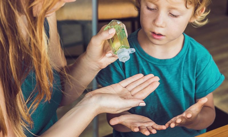 Eller için evde antiseptik nasıl yapılır?