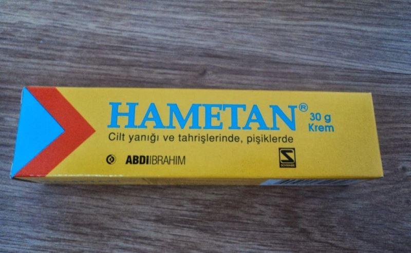 Hametan krem yüze sürülür mü? Ne için kullanılır?