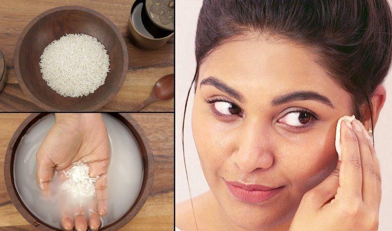 Yüz beyazlatmak için Şems Arslan pirinç unu maskesi nasıl yapılır?