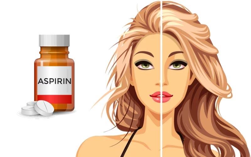 Aspirinle saç uzatmak, kepekten kurtulmak mümkün mü?