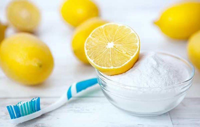 Limon, karbonat ve diş macunu ile koltuk altı beyazlatma