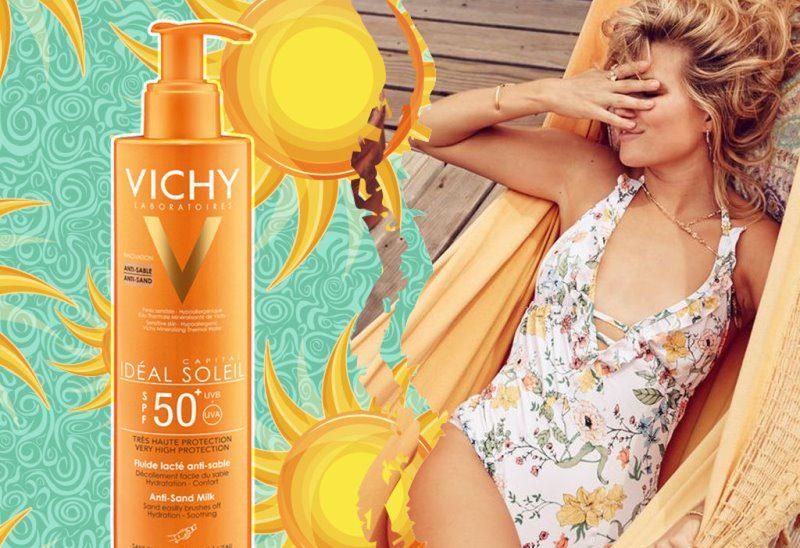 Vichy Ideal Soleil SPF50+ Anti Sand Milk