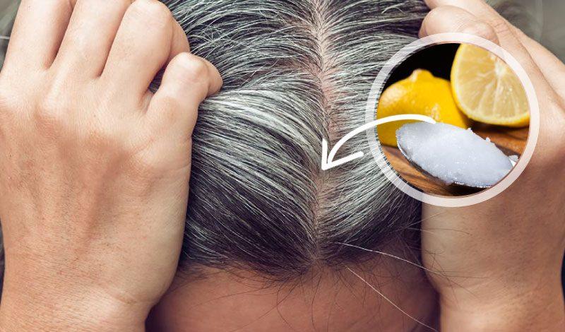 Hindistan cevizi yağı saç beyazlamasını önler mi?