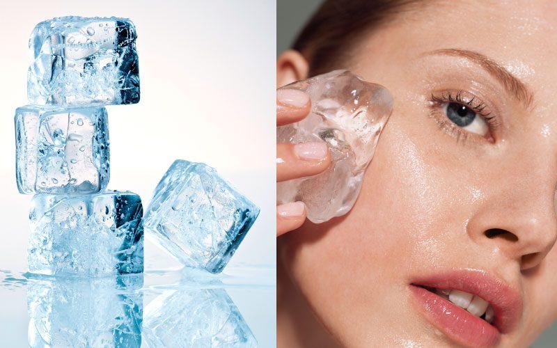 Yüze buz nasıl sürülür? Yüze buz sürmenin 9 faydası