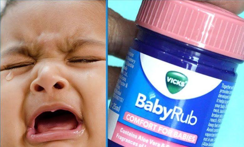 Vicks Krem Bebeklerde Nasıl Kullanılır?