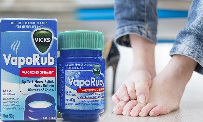 Vicks krem ayak ağrısına, mantarına iyi gelir mi?